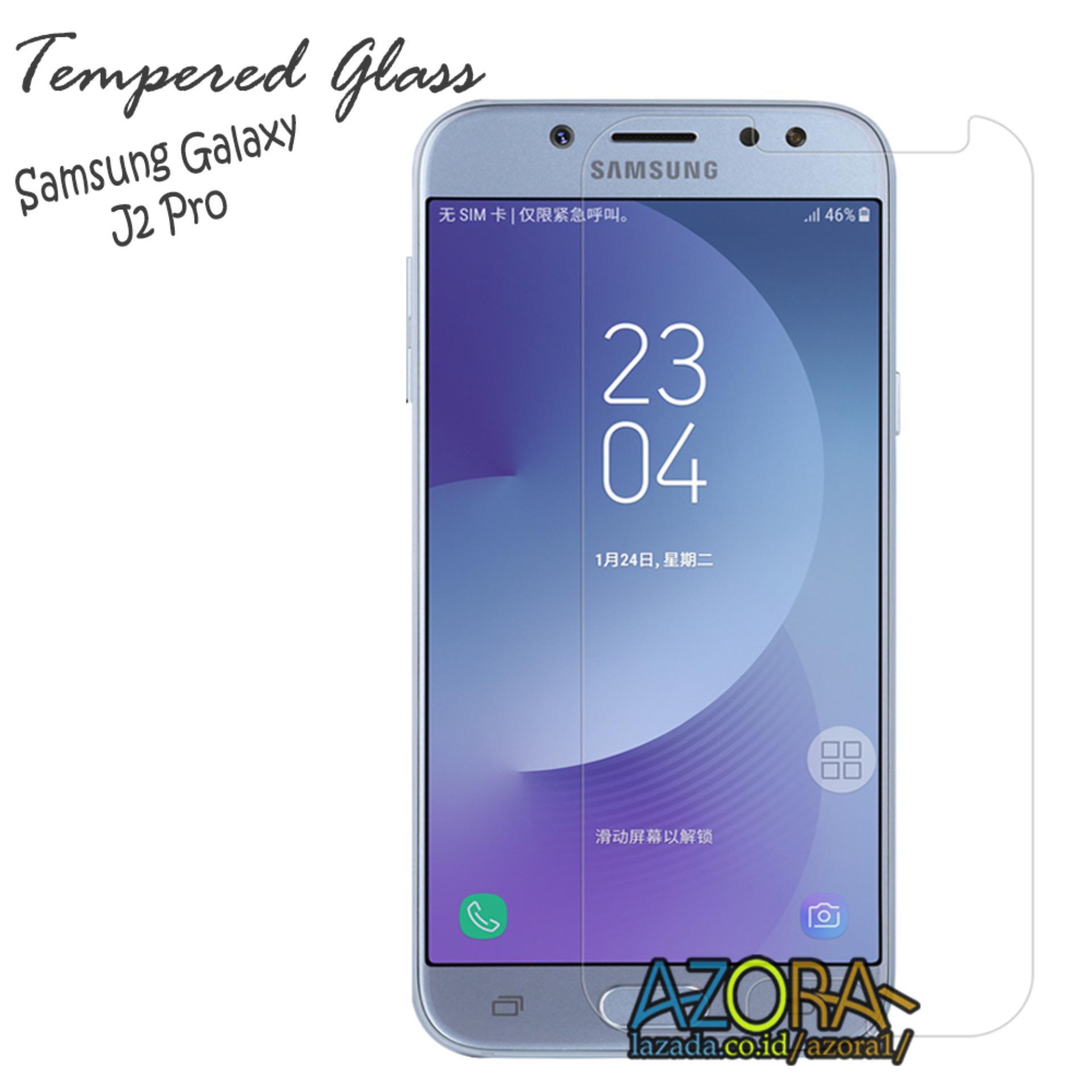 Cek Harga Baru Tempered Glass Screen Protector Anti Gores Kaca Temperred Samsung Galaxy J2 Pro Pelindung Layar Bening