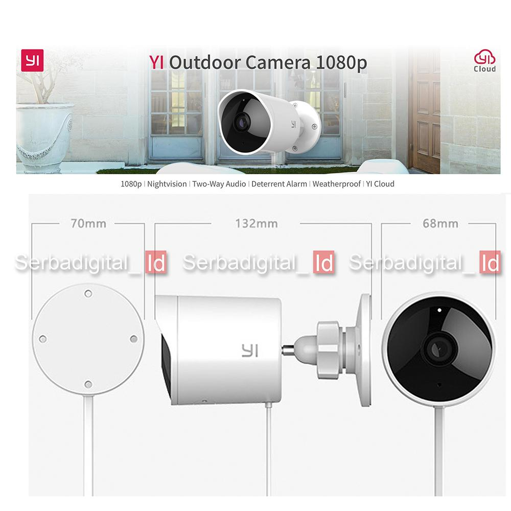 Lihat Xiaomi Yi Outdoor Camera 1080p Ip Camera Cctv Wifi