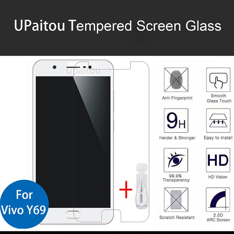 Gambar Produk Rinci Vivo Y69 Screen Protector Tempered Glass / Anti Gores Kaca - White Clear Terkini