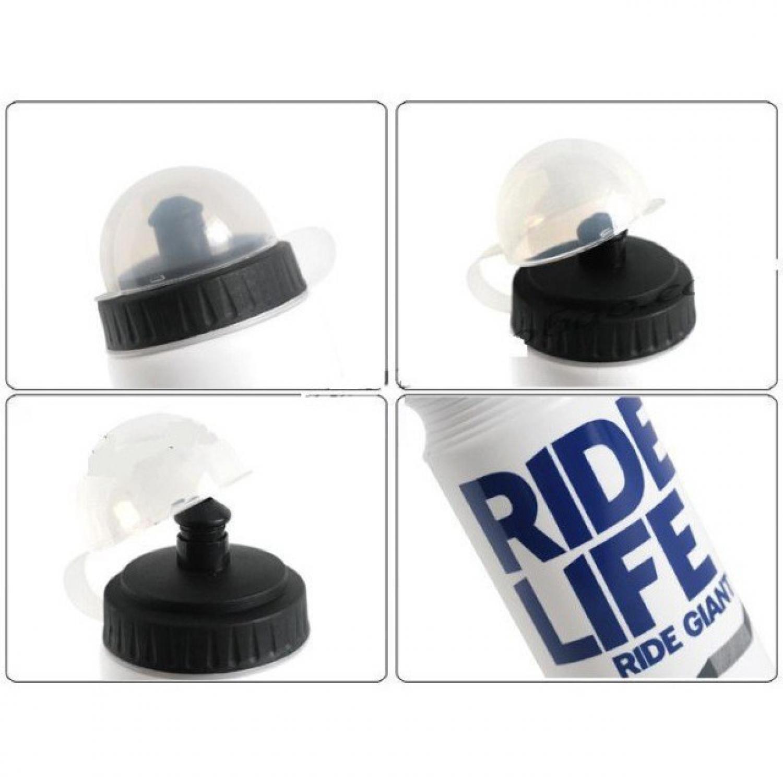 Fitur Botol Minum Olahraga Sepeda 750ml Tempat Plastik Aluminium 4