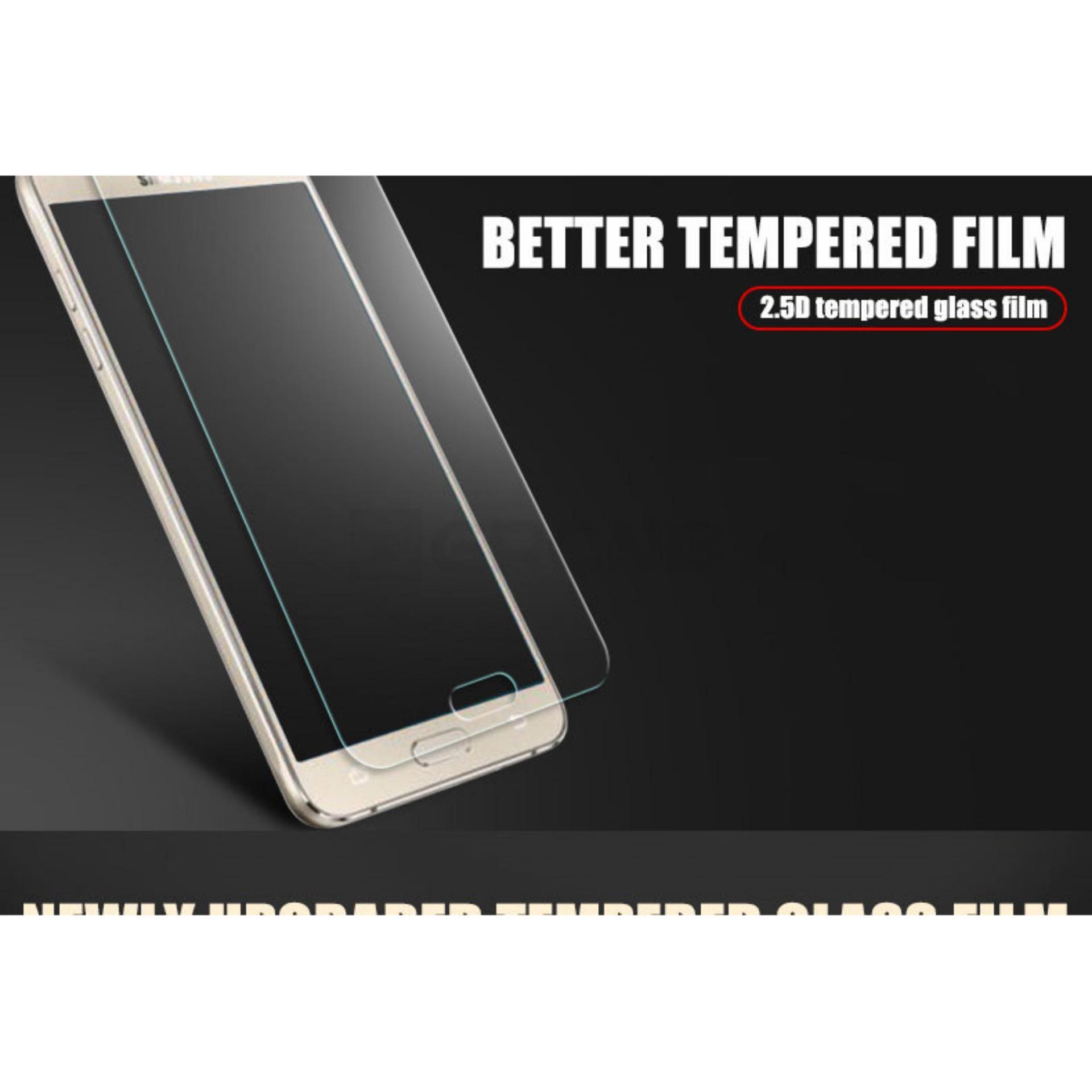 Tempered Glass Screen Protector Anti Gores Kaca Samsung Galaxy J5 2015 ( J500 .