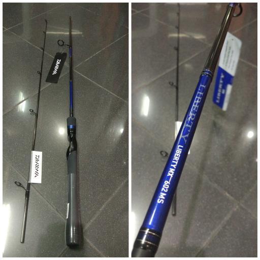 Joran Tangguh Daiwa Liberty MX 602 MS
