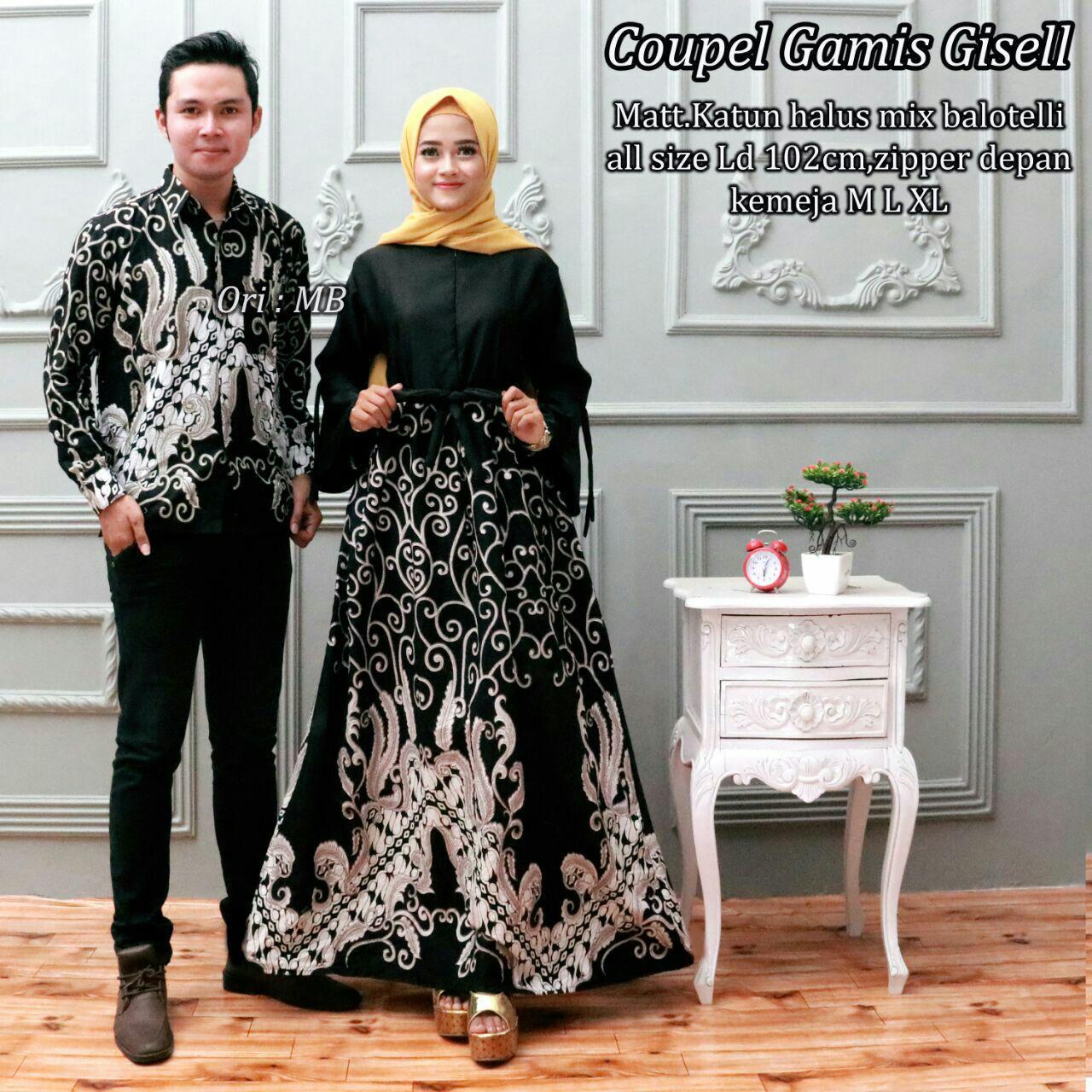 Features Likin Baju Kemeja Batik Gamis Couple Keluarga Murah Terbaru