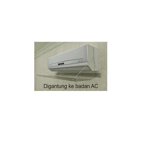 reflector ac acrylic / penghalang semburan ac (0,5 pk - 1pk)