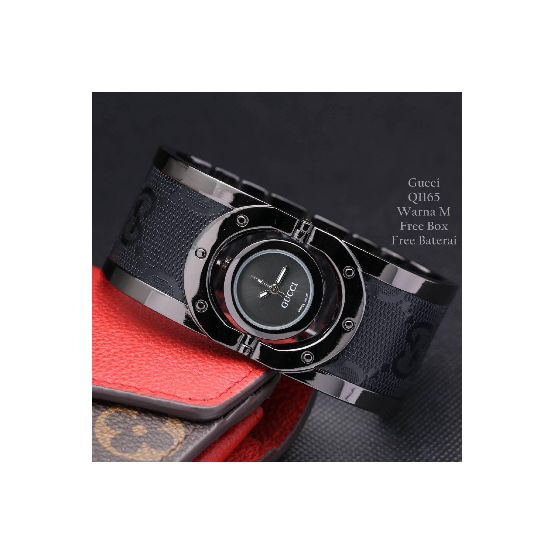 jam Tangan wanita Gucci Pink Rose warna M