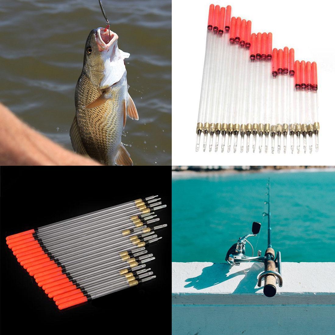 20 buah Waggler mengapung pelampung pancing ikan mas memancing aksesoris baru
