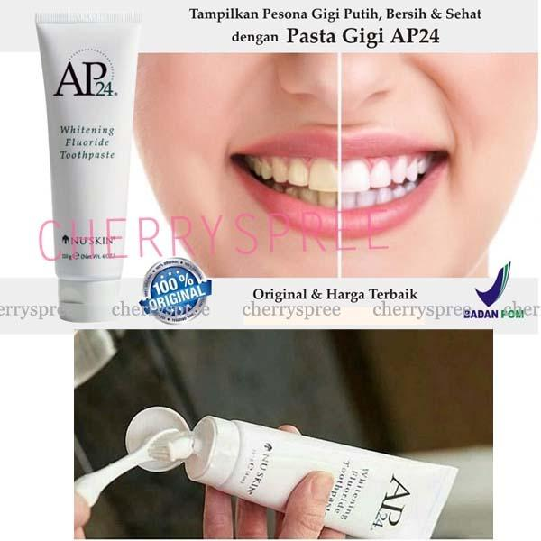 Cek Harga Baru Ap24 Whitening Toothpaste Pasta Odol Pemutih Gigi