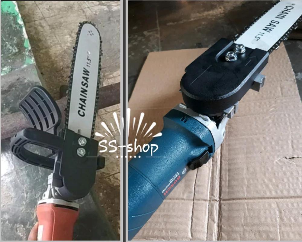 Fitur Grinder Chainsaw Stand Konverter Adapter Mini Chain Saw Fuji 12 Inch Gergaji Potong Kayu Gerinda Bitec Tangan Mesin Original 5