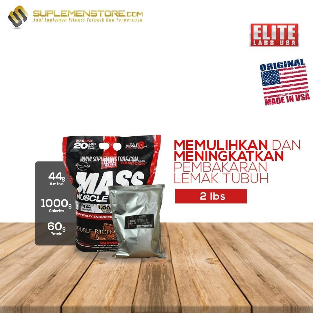 Spek Elite Labs Mass Muscle Gainer Bpom Eceran 2 Lbs Muscle