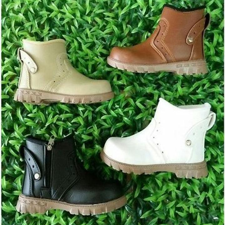 Sepatu Boot sleting Opec Buat Anak Cowo