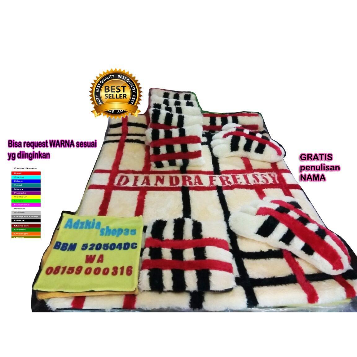 Beli Adzkia35 Kasur Karpet Karakter Garis Kotak Fullset Adzkia Online