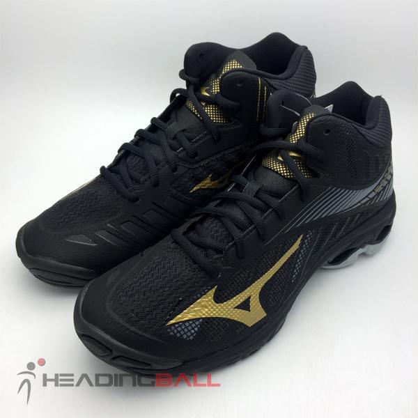 ... 3 Sepatu Volley Mizuno Original Wave Lightning Z4 Mid Black V1GA180550  - 4 f4027495eb