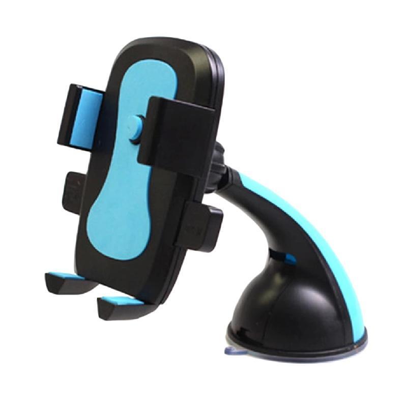 Universal Mobile Car Holder berfungsi sebagai tempat menaruh smartphone saat berkendara. Memudahkan Anda untuk menggunakan