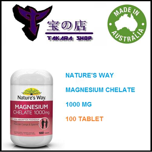 Untitled Source · Natures Way Magnesium Chelate 1000 mg 100 tablet