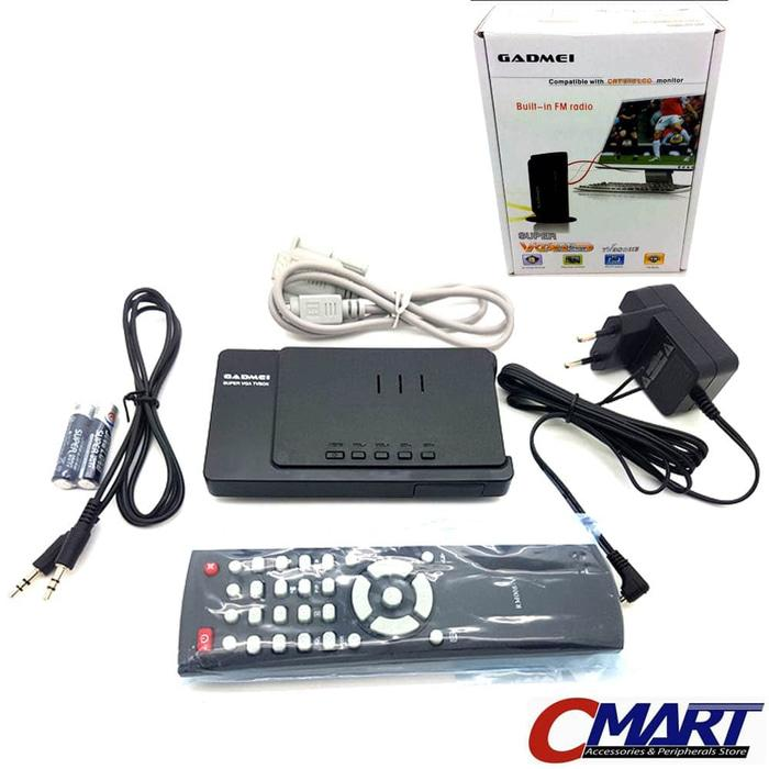 ORIGINAL - Gadmei TV Tuner TV3810E COMBO CRT&LCD with Remote Control  GAD-TV3810E