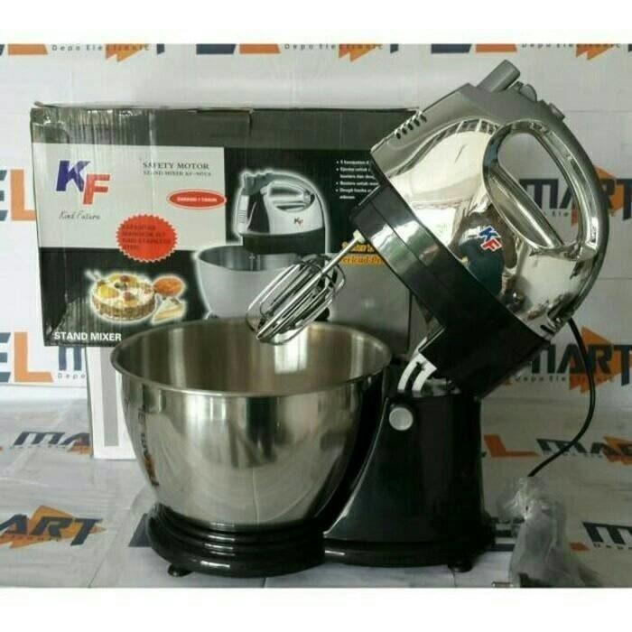 Stand Mixer BESAR 4kg Donat Kue Cake Cookies Bolu Martabak