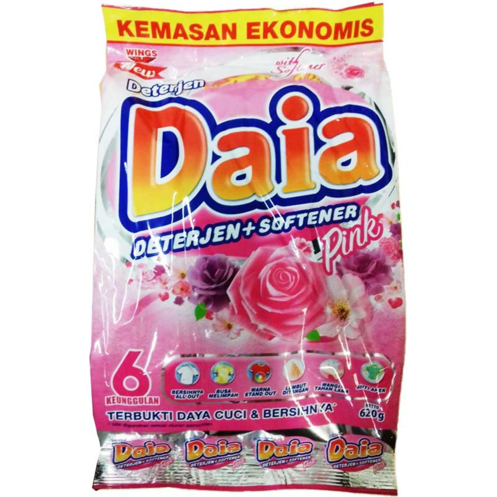 Fitur Daia Softener 620g Dan Harga Terbaru Info Tempat Softergent Violet