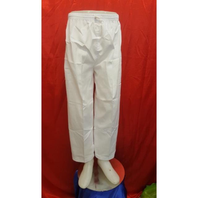 Celana Pangsi Cewek Putih/Celana Hajiumroh Putih/Celana Haji Umroh
