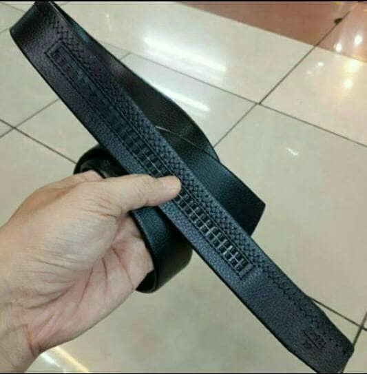 tali gesper pria ikat pinggang cowok sabuk ban kulit import