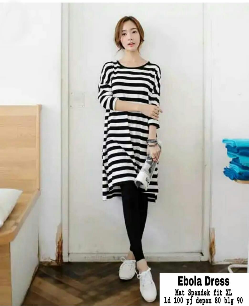FJCO Ms Dress Ebola / Dress wanita / Fashion wanita