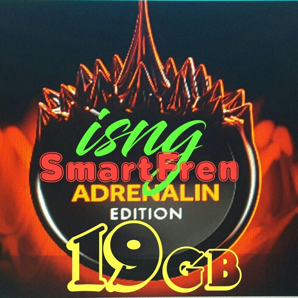 Promo Perdana Internet Smartfren 19Gb Bkn Smartfren 13Gb 15Gb 16Gb