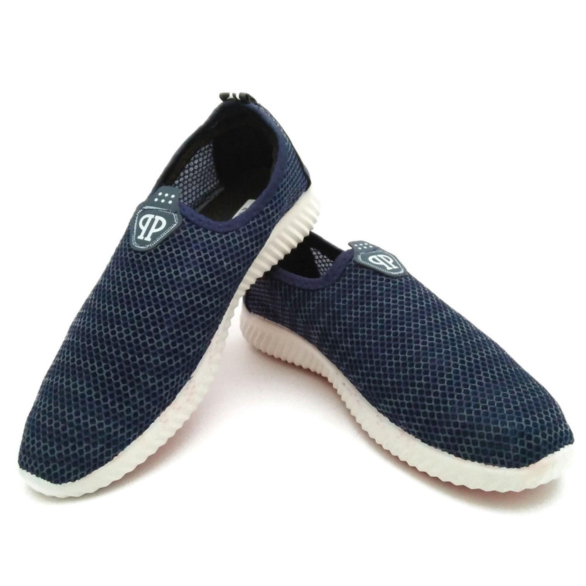 ... Vivo Fashion Sepatu Casual Pria/Sepatu Slip On Pria/Sepatu Sneakers Pria SP08906 ...
