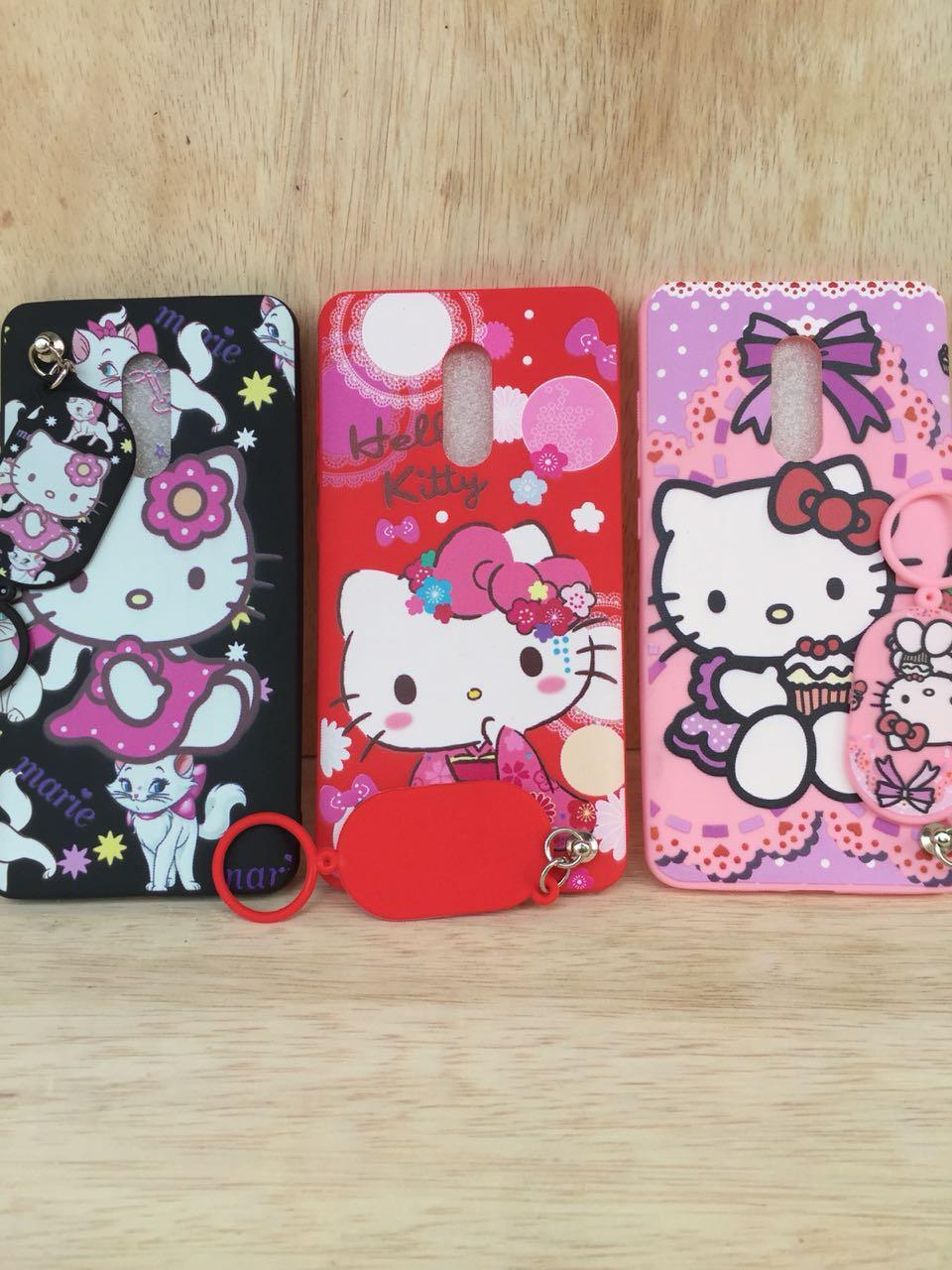 ... Case Softcase Karakter Gantungan Doraemon/Hello Kitty For Xiaomi Redmi Note 4X - 4