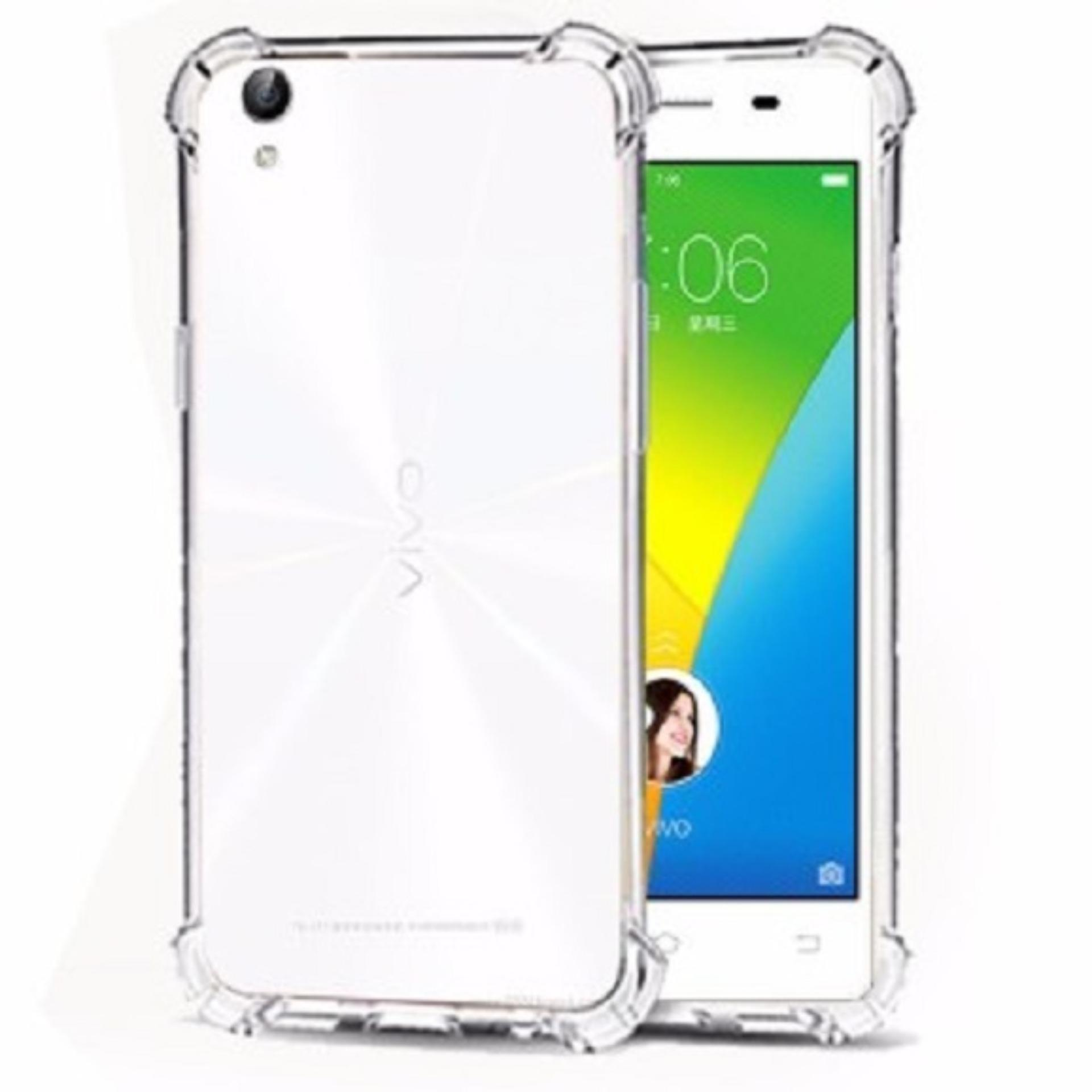 ShockCase for Vivo Y51 / Y51L / Y51T / Y51S | Premium Softcase Jelly Anti Crack Shockproof - Transparan