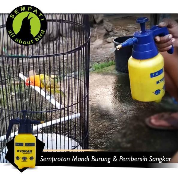 Semprotan Air Mandi Burung 1 Liter Kyokan - 3