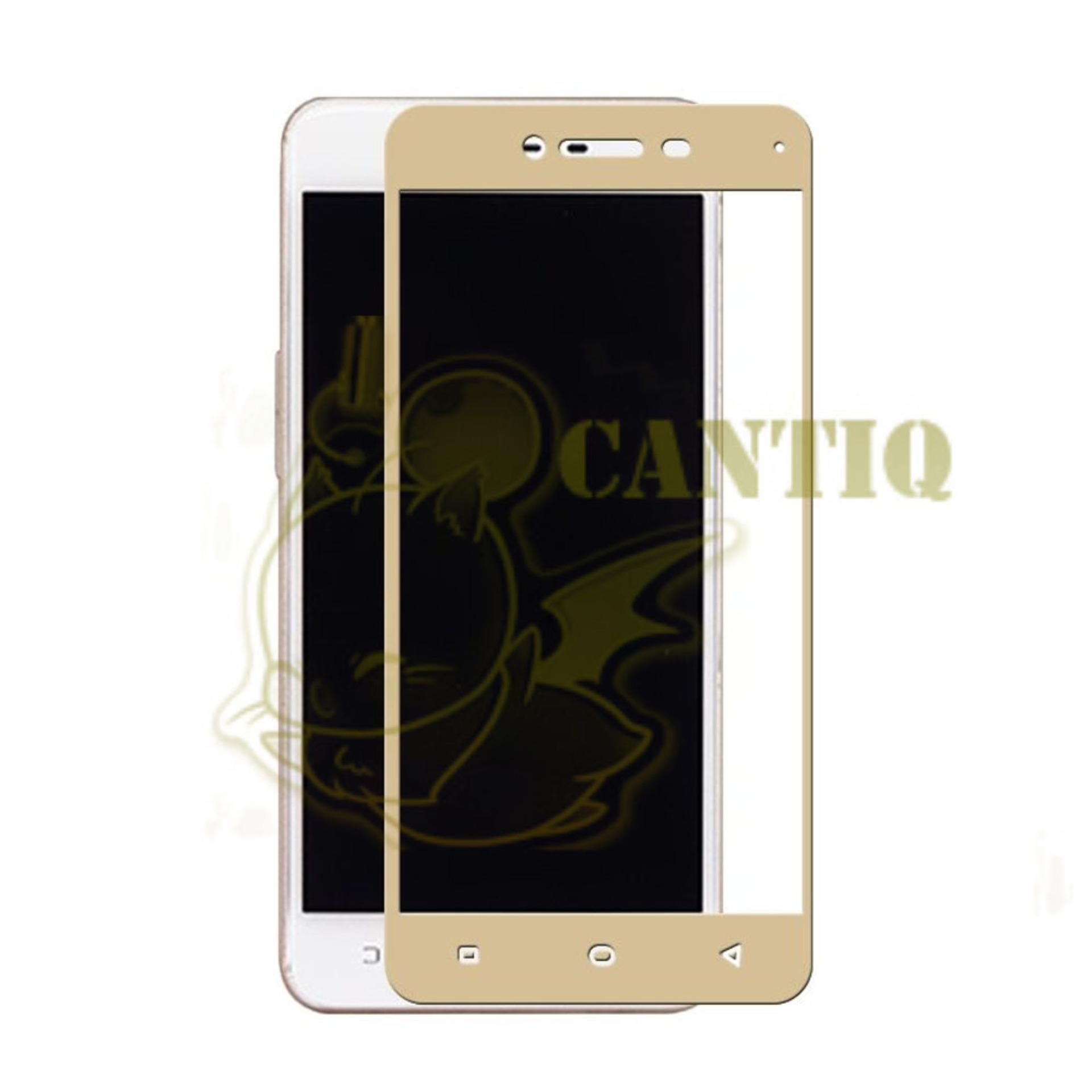 QCF Tempered Glass Full Screen Oppo A37 Neo 9 ly Depan Screen Protector