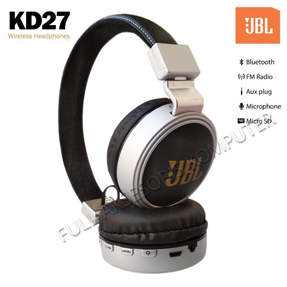 Kelebihan Jbl Kd27 Headset Wireless Bluetooth Fm Radio Support Rexus Headphone M1 With Micro Sd Slot Ekstra Bass Stereo Handsfree Hitam 5