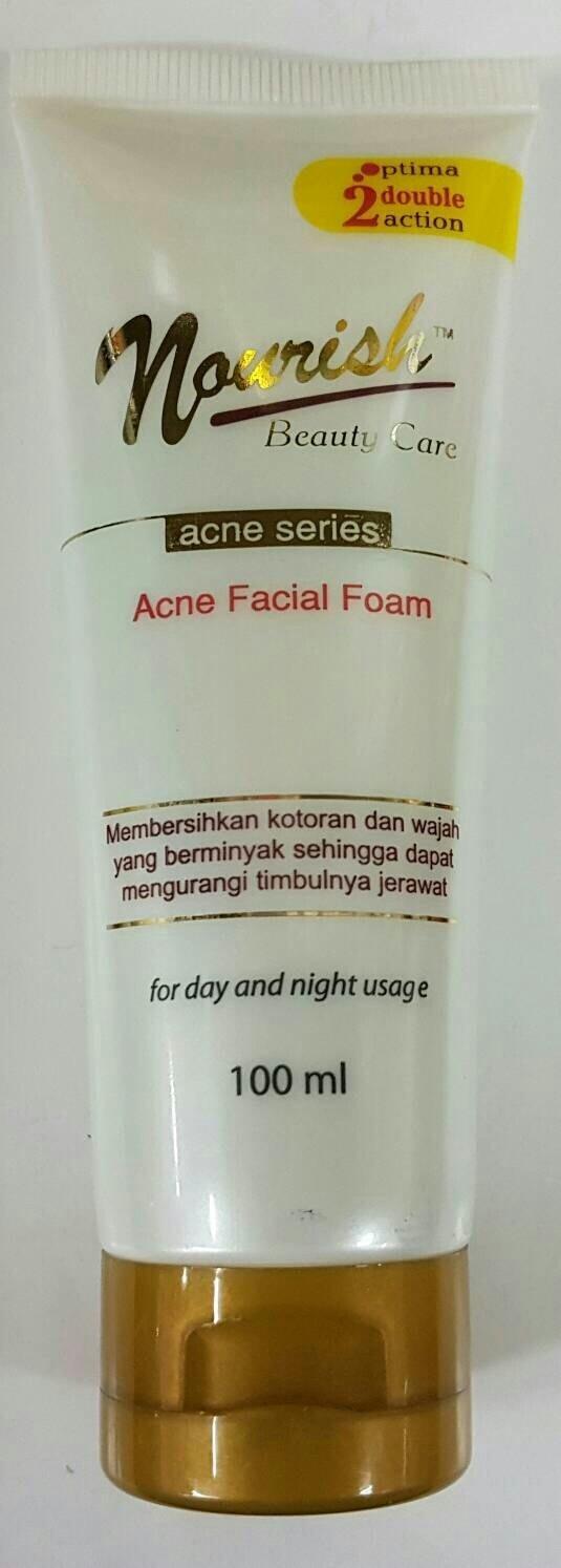 Fitur Theraskin Facial Wash For Acne Skin Sabun Pencuci Wajah Untuk Muka Normal Nourish Foam