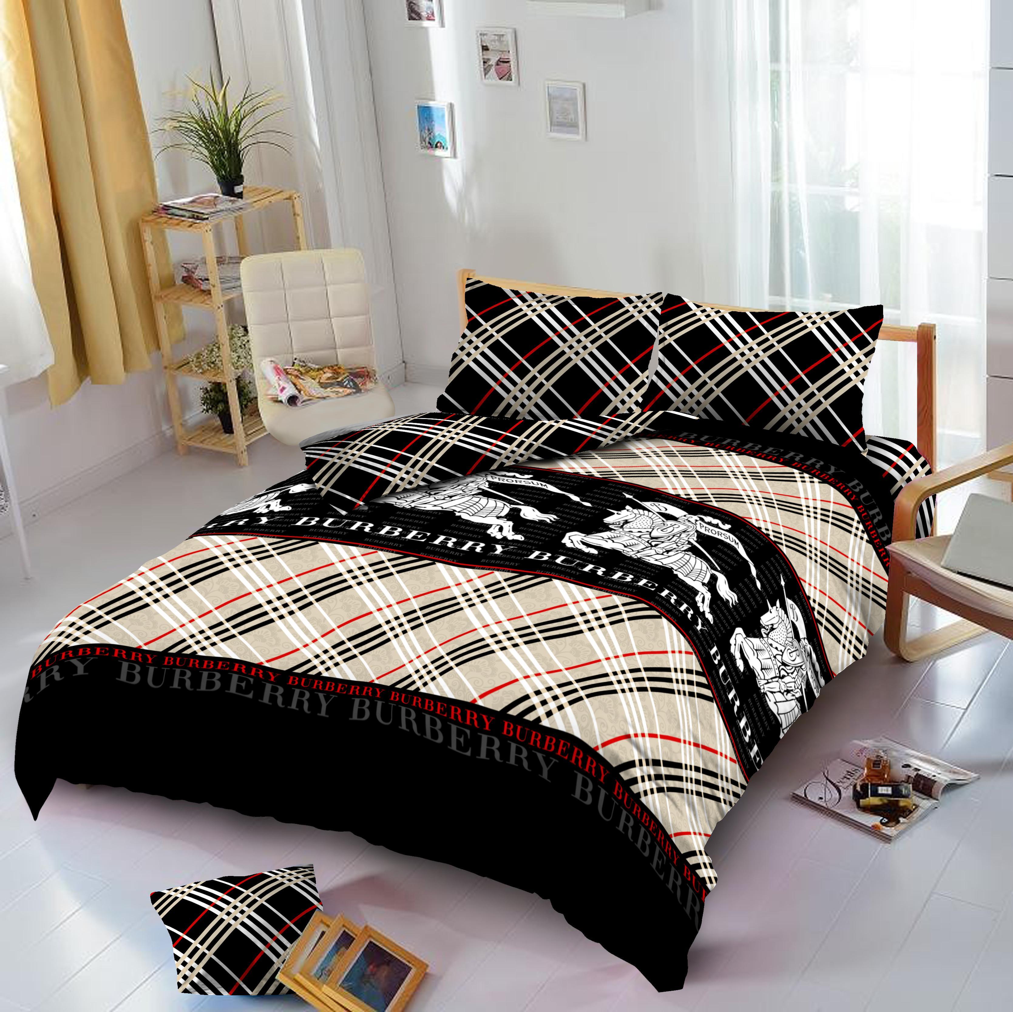 Kelebihan Bed Cover Set Kintakun Dluxe King 180 X 200 Summer Bee Sprei 120 Single Elena Burberry