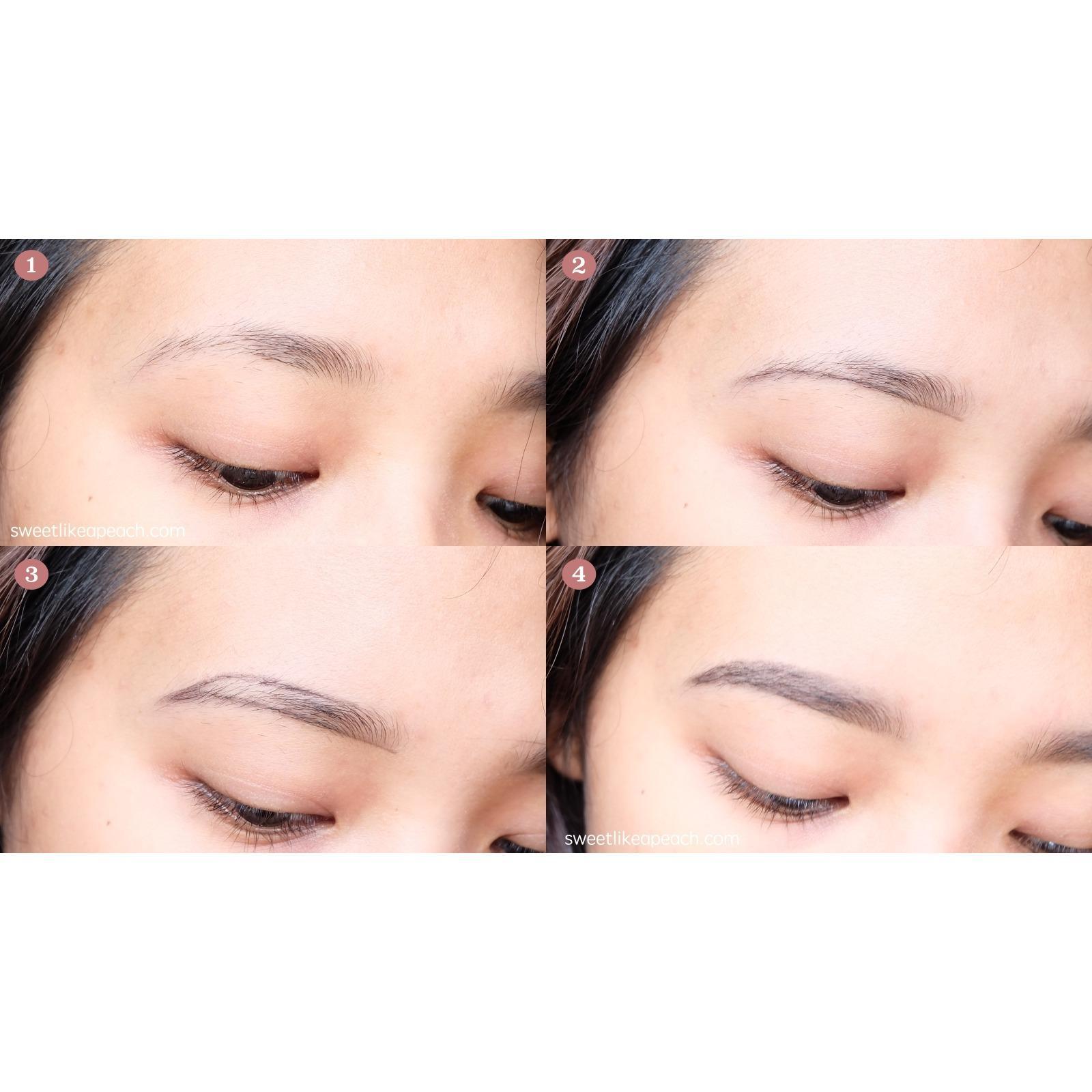 Fitur Etude House Drawing Eye Brow Eyebrow Pencil Brush Pensil Alis Set Sikat 3 Brown