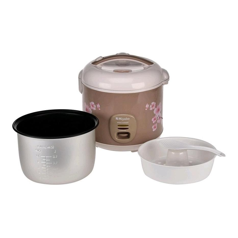 Kelebihan Gogo Grosir Miyako Mcm 509 Rice Cooker Penanak Nasi 1 8 L 609 Magic Com 06 Liter Warm And Cook 18 4