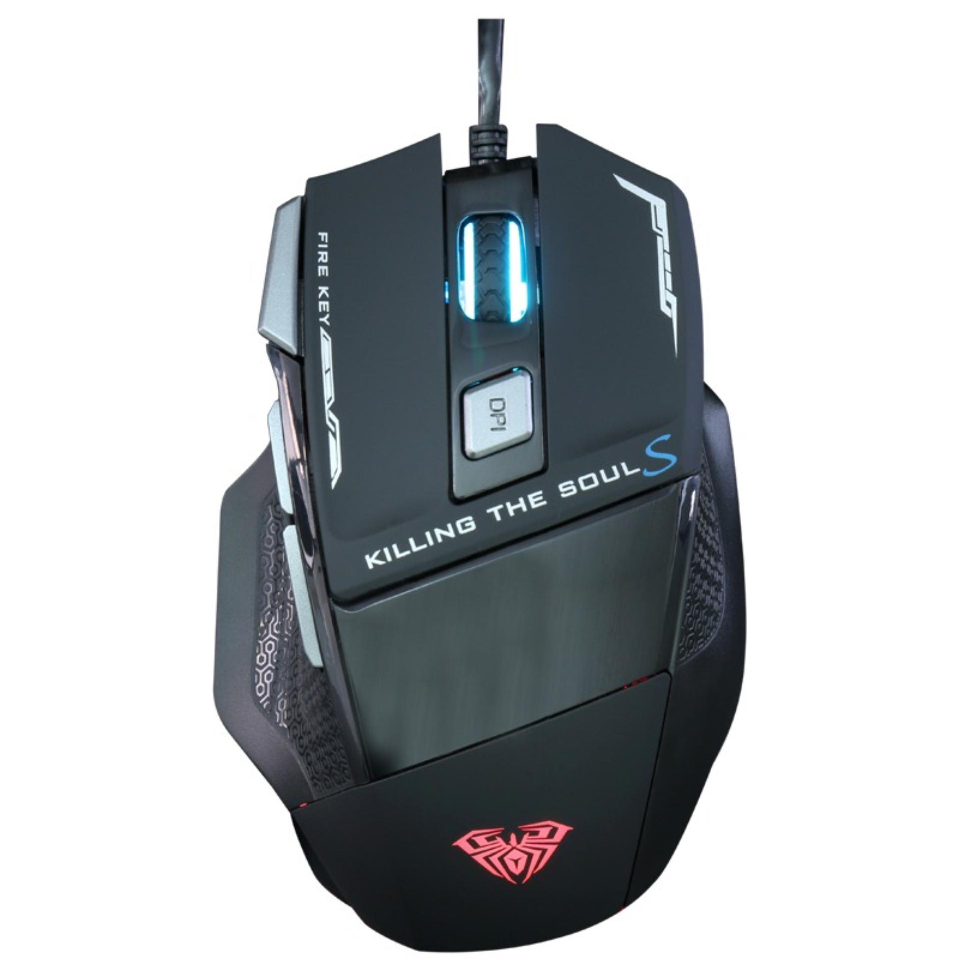 AULA Killing The Soul II RGB Gaming Mouse Hitam