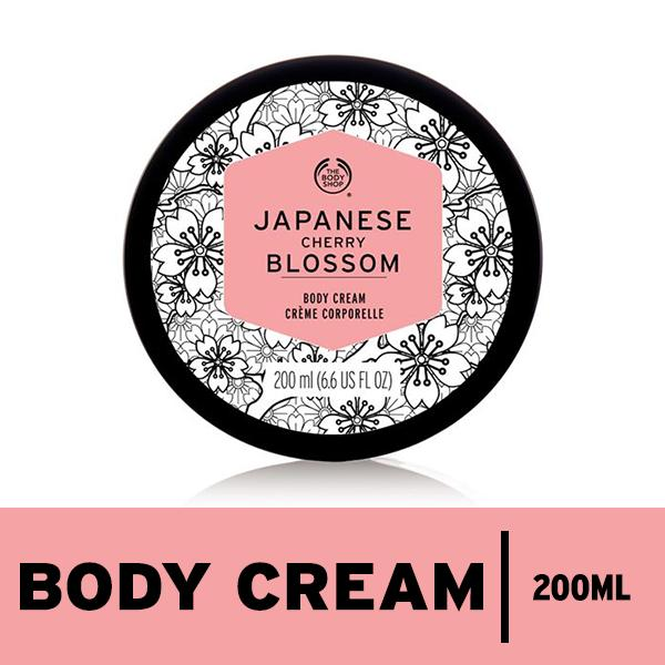 Review The Body Shop Voyage Japanese Cherry Blossom Body Cream 200Ml The Body Shop