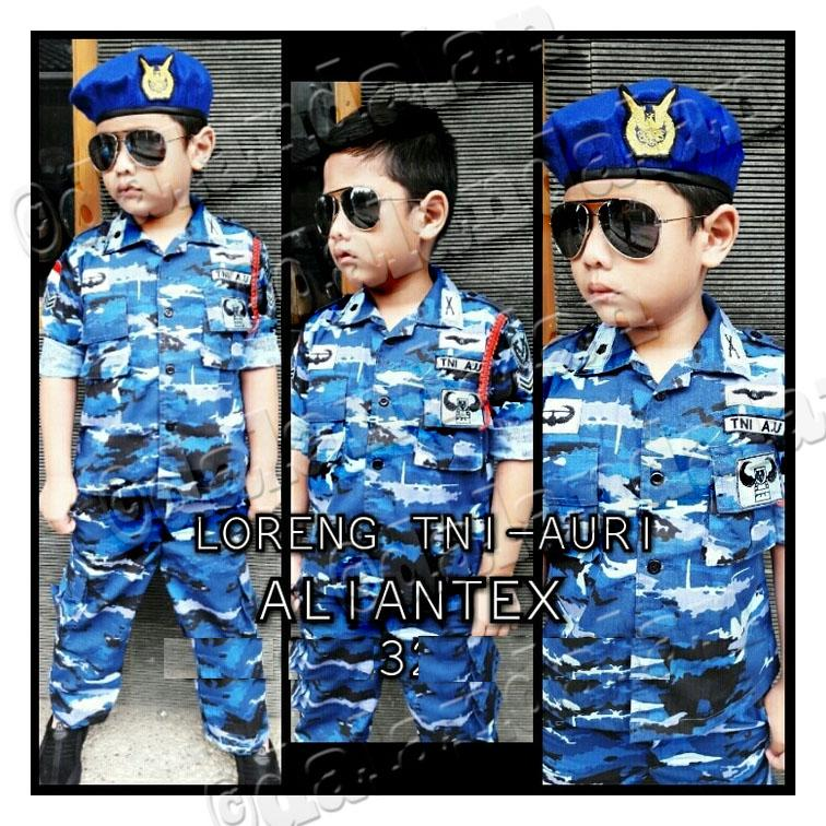 Baju Profesi TNI AU AURI Polisi Tni AD Angkatan Udara Darat Tentara Army Celana Peluit Talikur