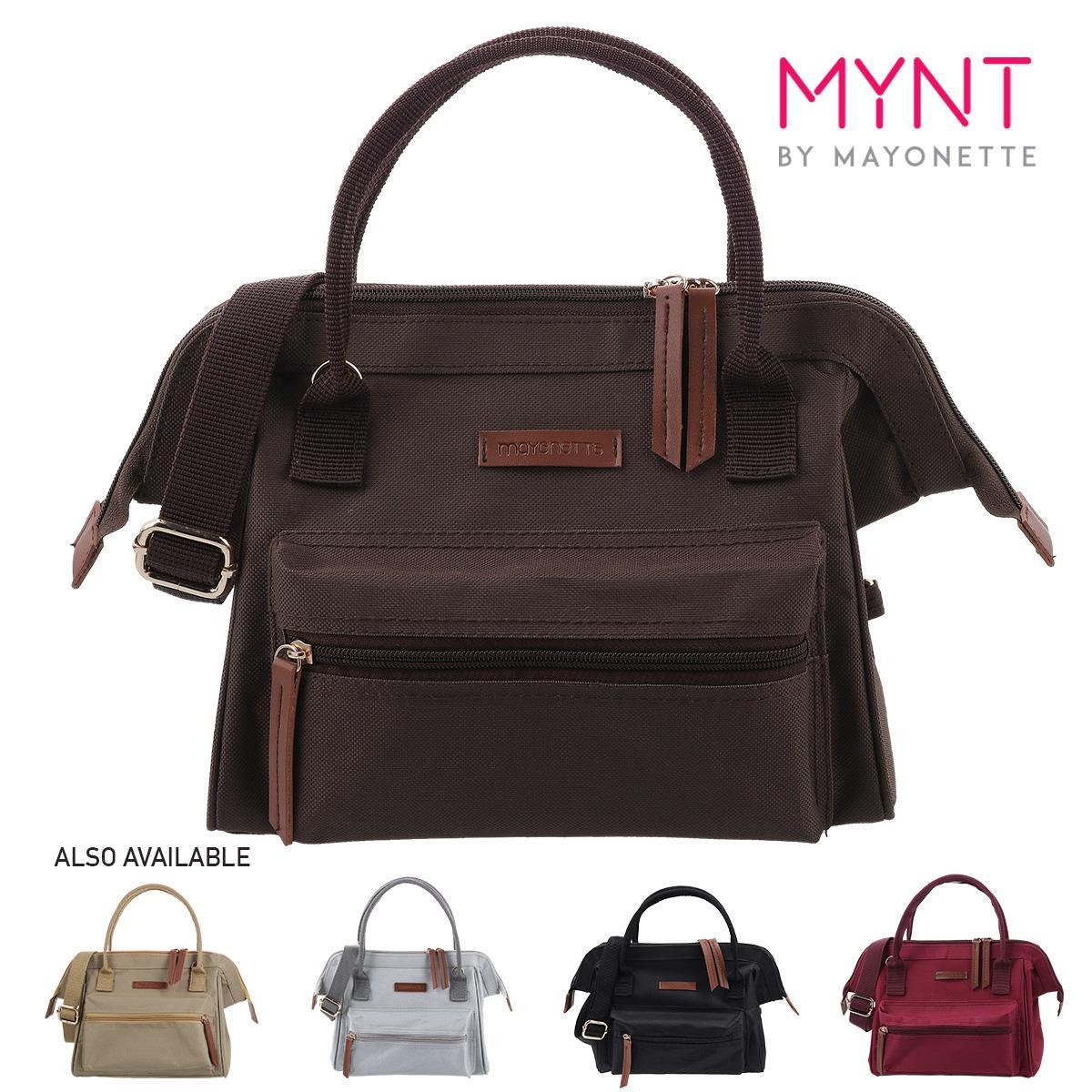 MYNT by Mayonette Tas Fashion Wanita Korean Style Tas Batam Milo Backpack Coklat Tua