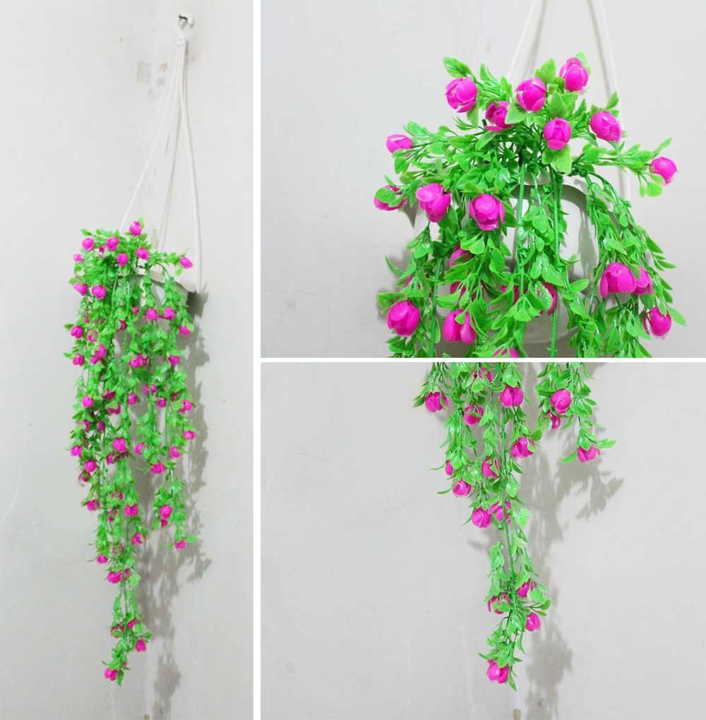 Cek Harga Baru Bunga Mawar Rose Plastik Palsu Artificial Hias 6 ... 72bf1a0854