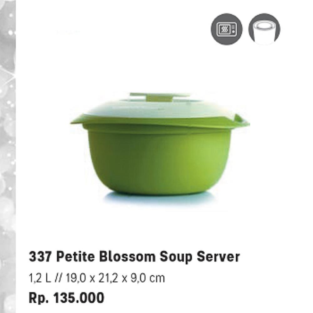 Detail Gambar Tupperware Petite Blossom Soup Server