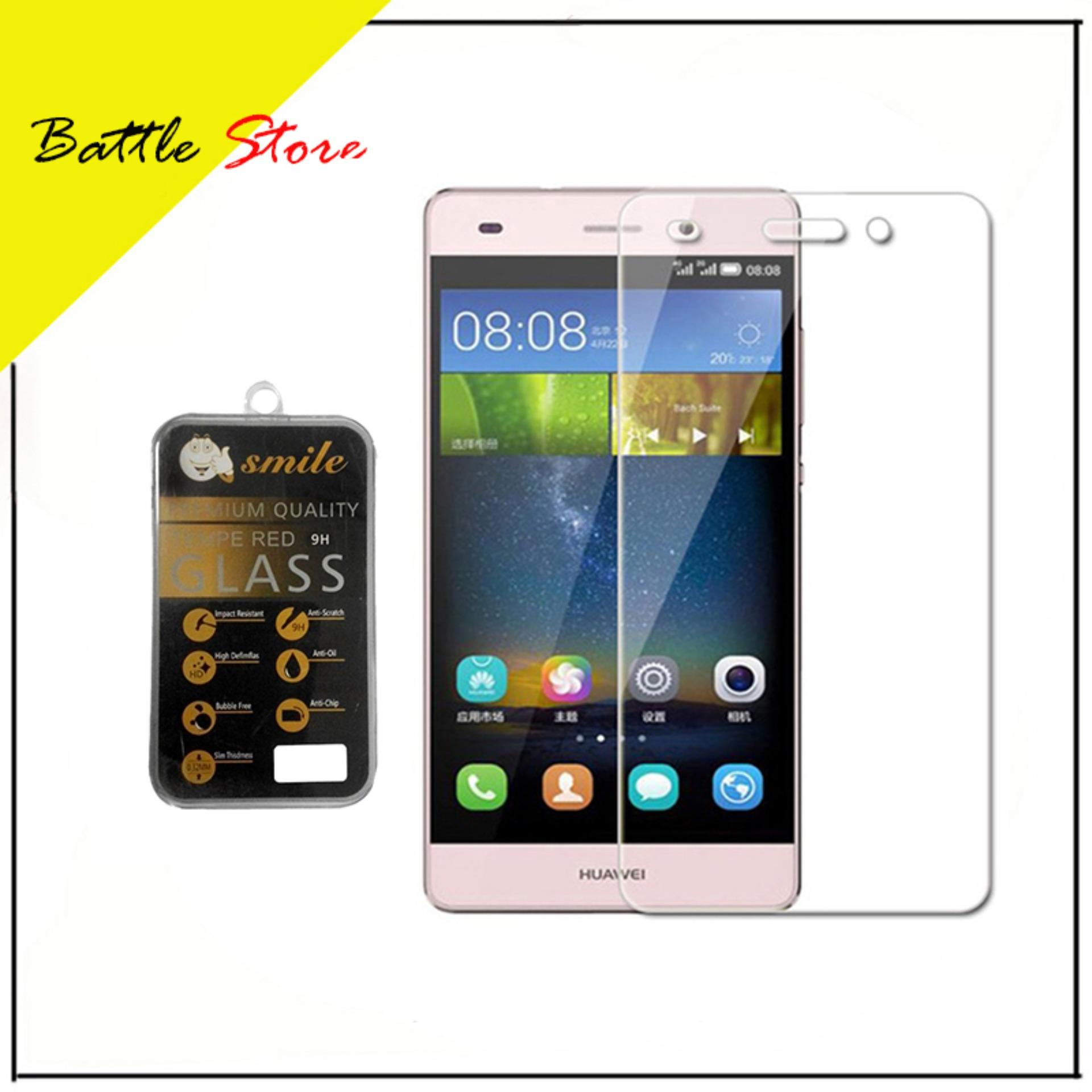 Huawei P8 Lite ( 2017 ) Smile Screen Protector Tempered Glass / Anti Gores Kaca -