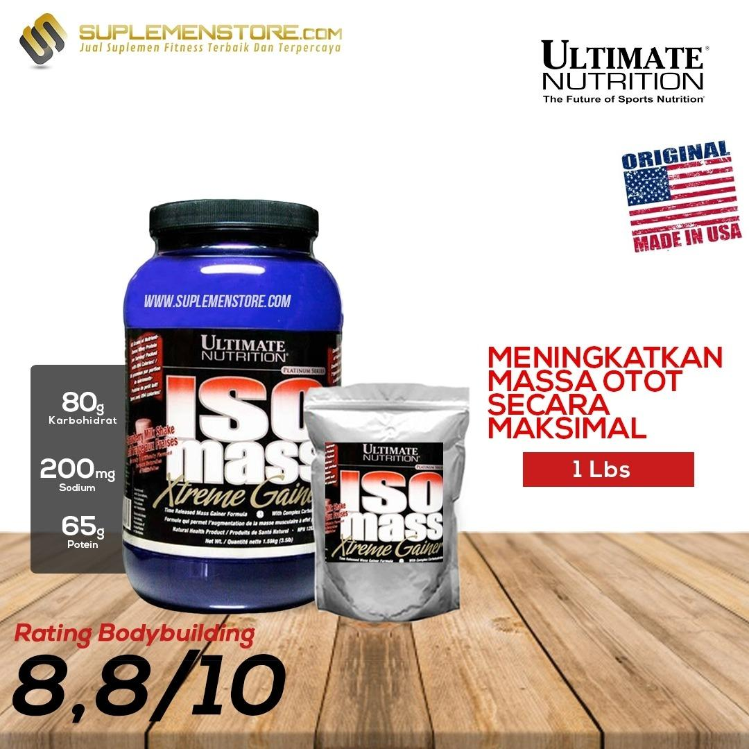 Diskon Produk Ultimate Nutrition Iso Mass Xtreme Gainer Ecer Repack 1 Lb