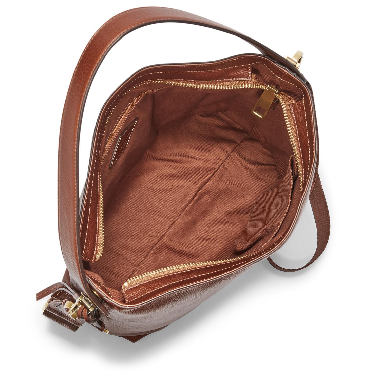 Kelebihan Fossil Maya Hobo Crossbody Brown Leather Tas Wanita Zb6979 Ready Nwt 200 Vc
