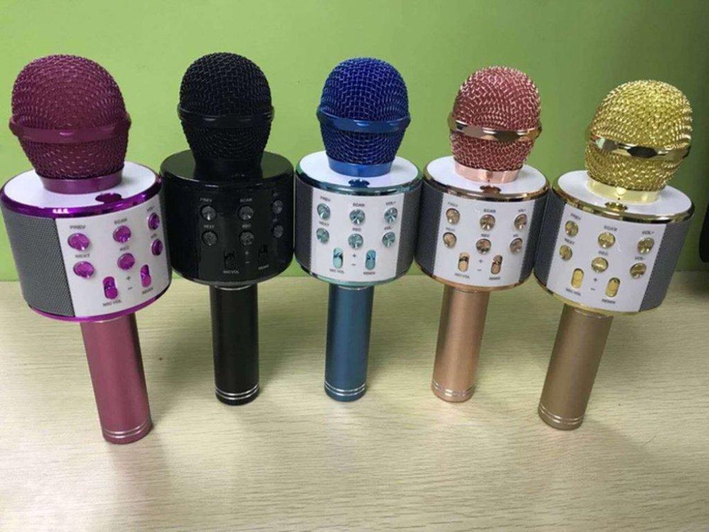 Kelebihan Kado Unik Mic Karaoke Wirelles Ws 858 Smule Mix Bluetooth Wster Original Detail Gambar Wireless Murah Terbaru