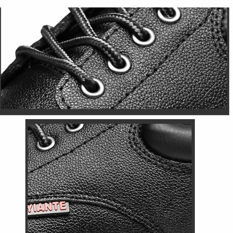 Features Toursh Ukuran Besar Pria Sepatu Keselamatan Kerja Kasual