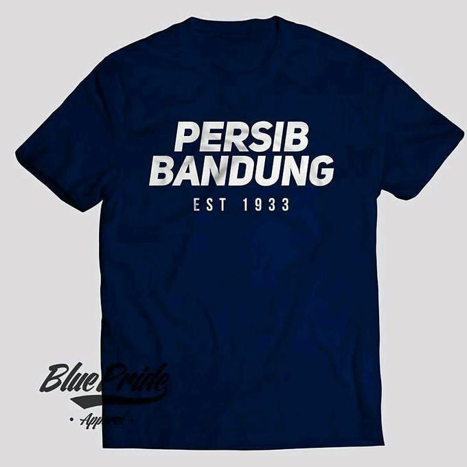 Kaos Tshirt Baju Combed 30S Distro Persib Bandung Est 1933 Jersey Mura - Comjersey
