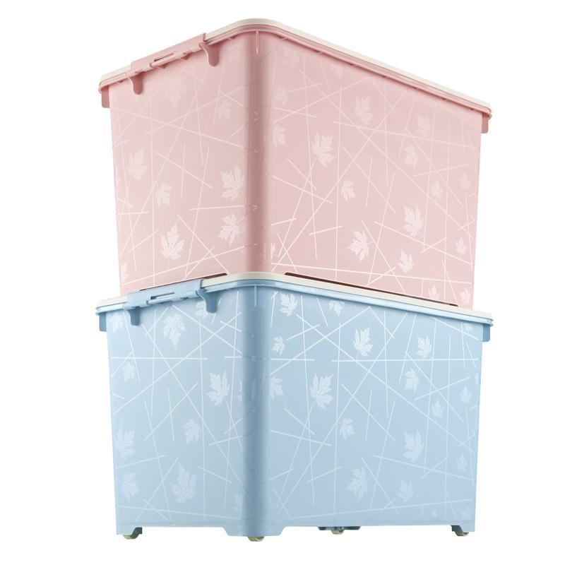 Kontainer dilengkapi ekstra besar Kotak penyimpanan Plastik pakaian