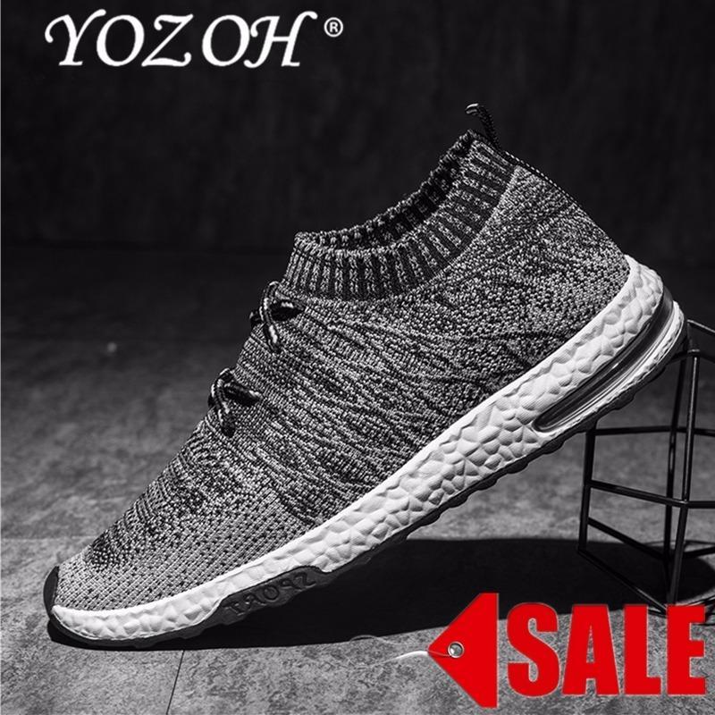 Beli Yozoh Menjalankan Sepatu For Pria Mesh Bernapas Olahraga Sepatu Pria Tinggi Meningkatkan Sneakers Pria English Yang Bagus