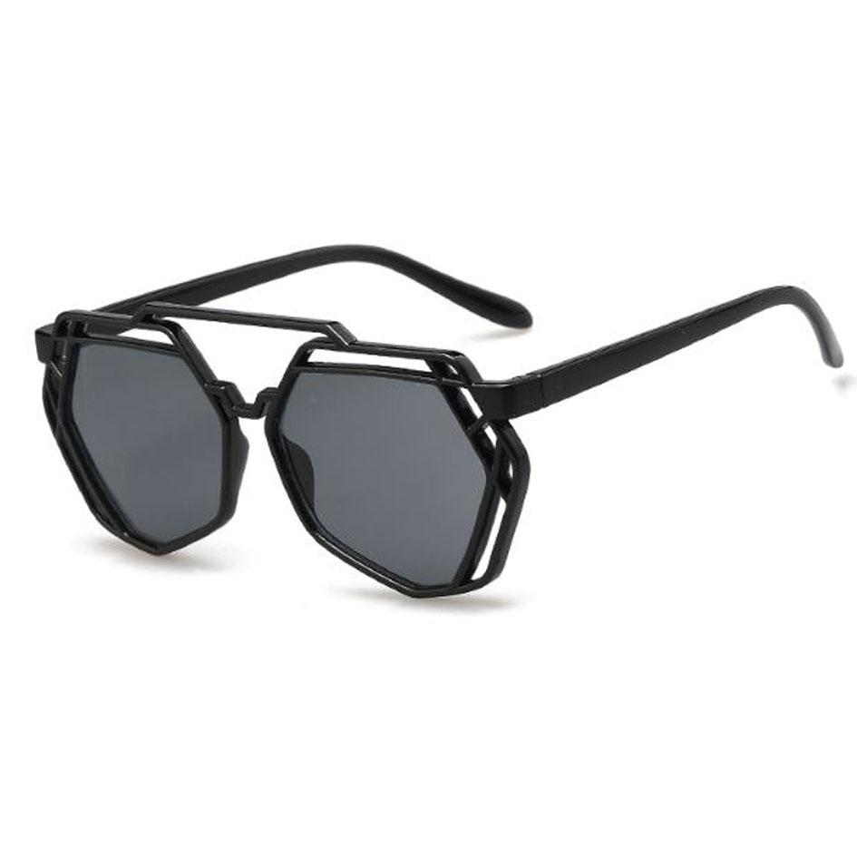 OILA kacamata hitam wanita retro big box sunglasses jgl061